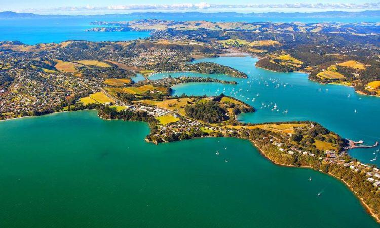 Auckland közelében egy remek kirándulóhely