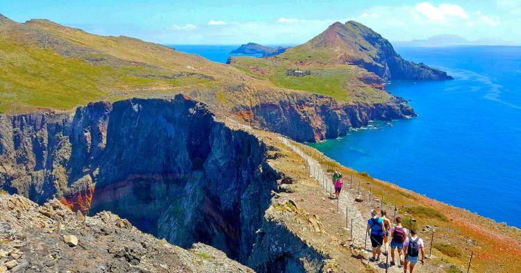 Madeira egyik legnépszerűbb túrája a Szent Lőrinc-félsziget