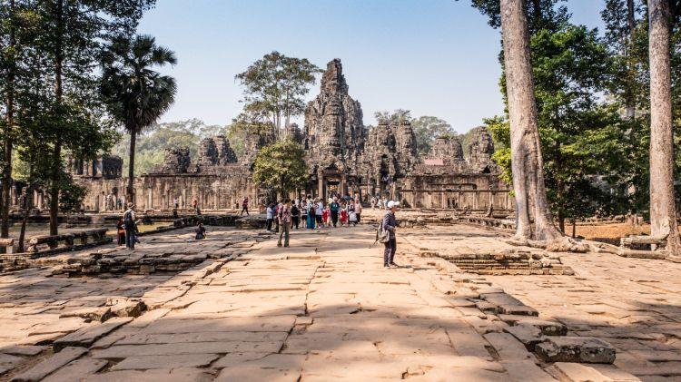 Angkor Wat egy épülete