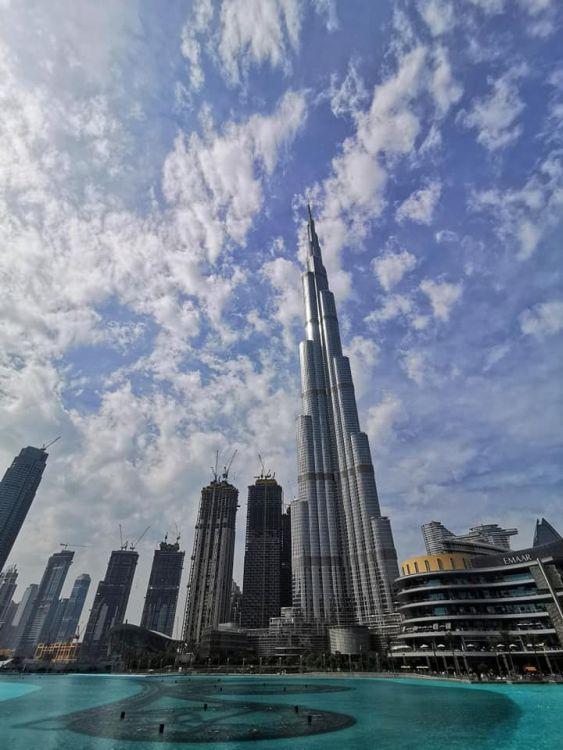 A Burj Khalifa Dubaj és a világ legmagasabb épülete