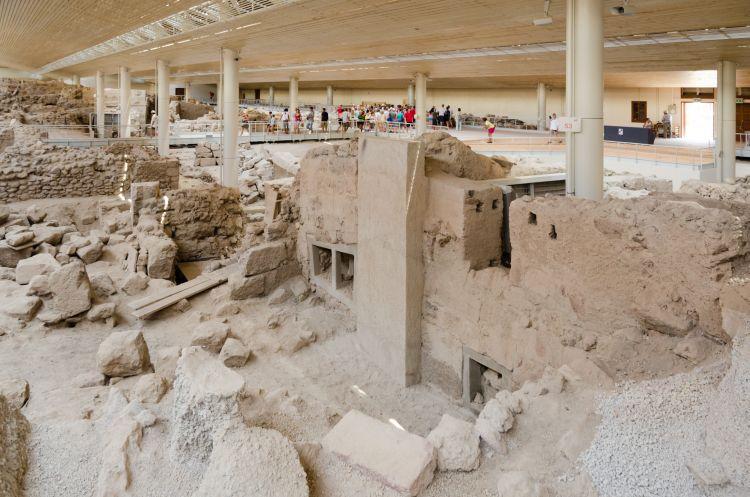 Pompei-hez hasonlóan ezt a várost is vulkánkitörés pusztította el