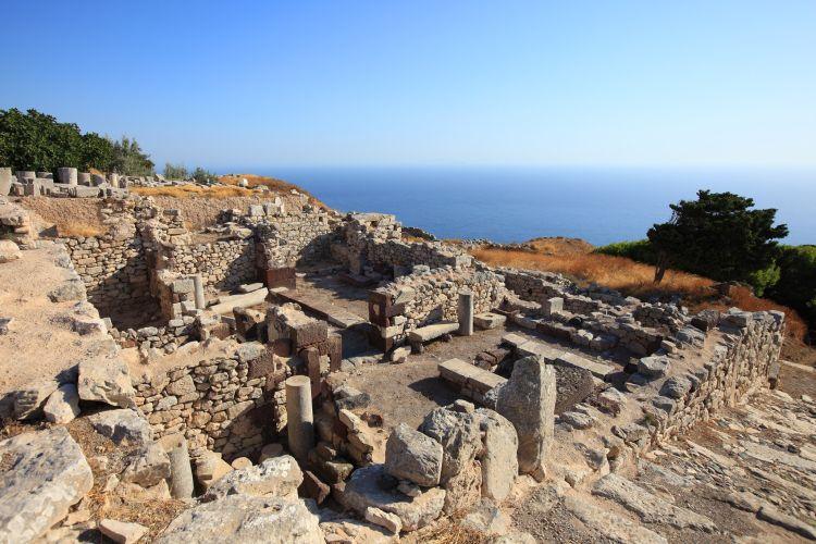 Az egykori minószi kultúra tárul elénk itt