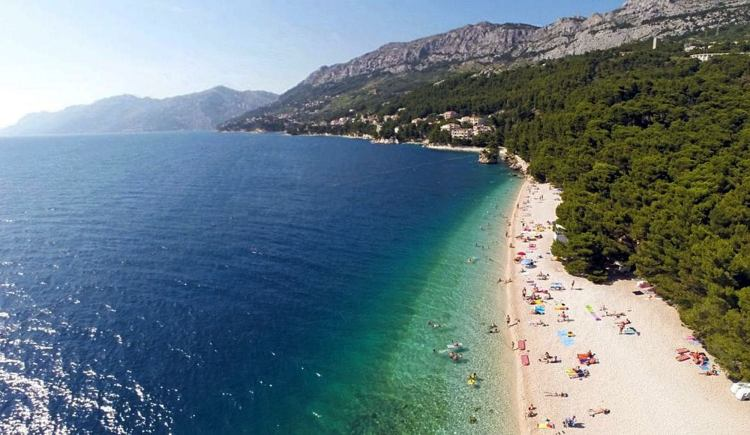 Makarska környékén rengeteg szép tengerpart van