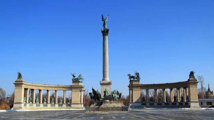 """A Hősök tere hazánk """"főtere"""", Magyarország kötelező látnivalója"""
