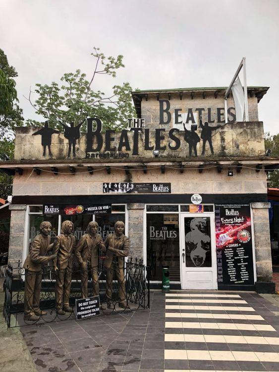 Varadero, The Beatles étterem - ahol kaja nem volt, de minden este élő világzene
