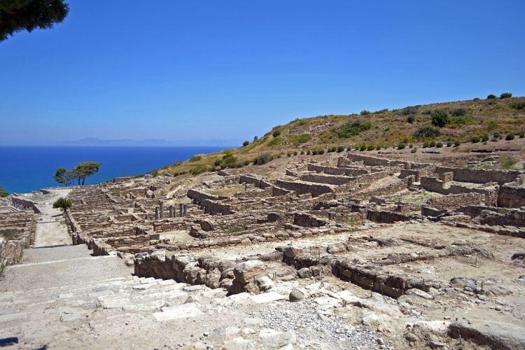 Kameiros a rodoszi Pompei