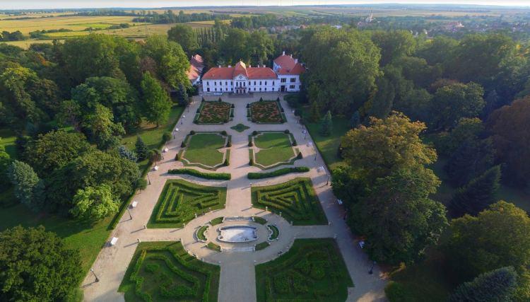 A Széchenyi-kastély látképe