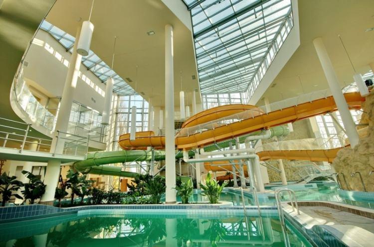 Gyulán az AquaPalota egész évben várja a fürdőzőket