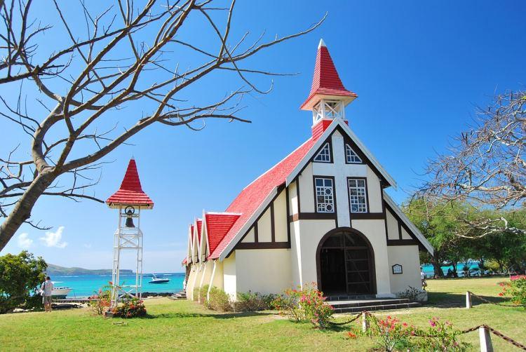 A templom népszerű fotóshely az északi részen