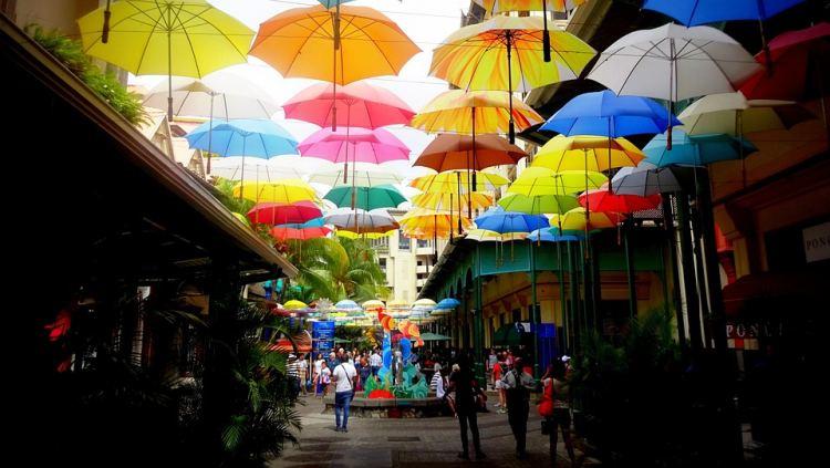 A Caudan sétány hangulatos sétálóutca a fővárosban