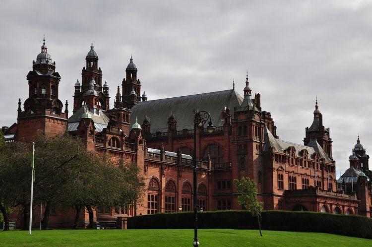 A Kelvingrove Művészeti Múzeum az egyik legnépszerűbb skót látnivaló