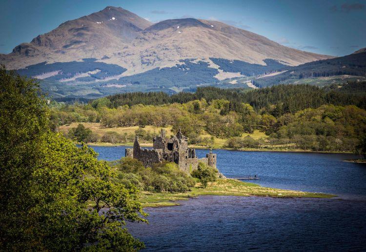 A kastély népszerű fotóshely