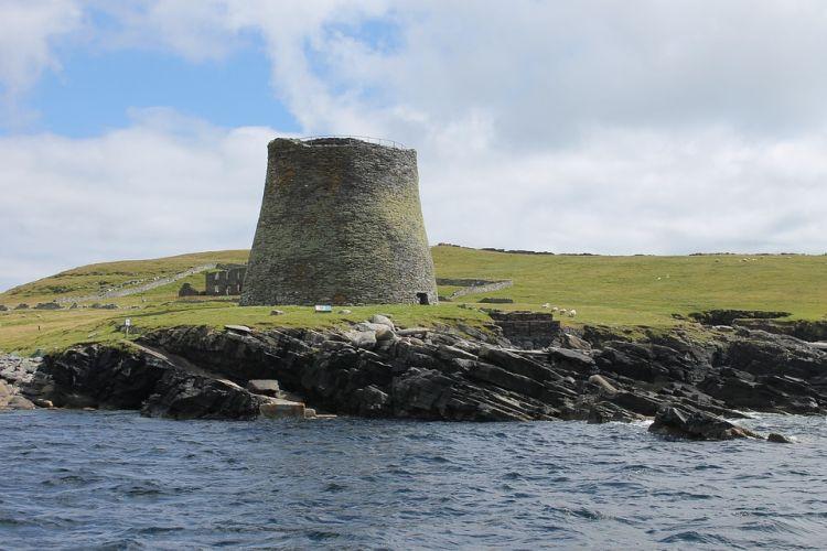 Nagyon jó állapotban maradt meg a kb 2100 éve épült lakótorony
