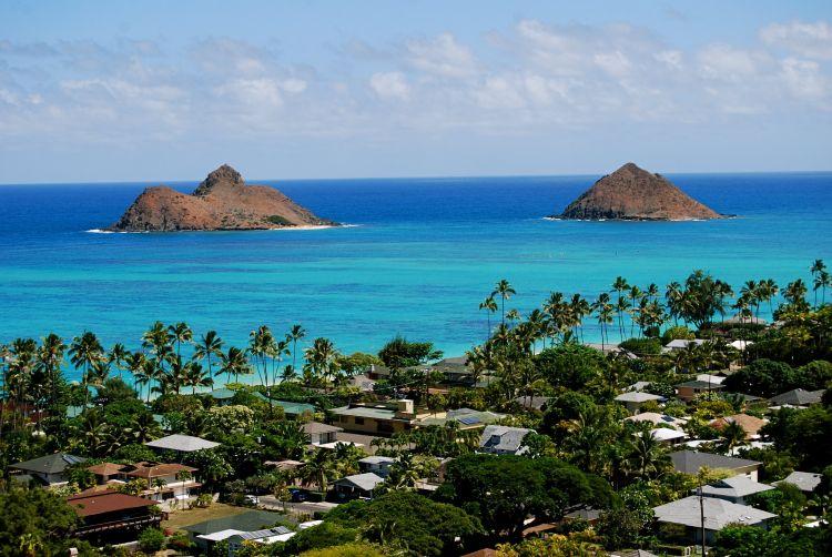 Lanikai Oahu legszebb tengerpartja