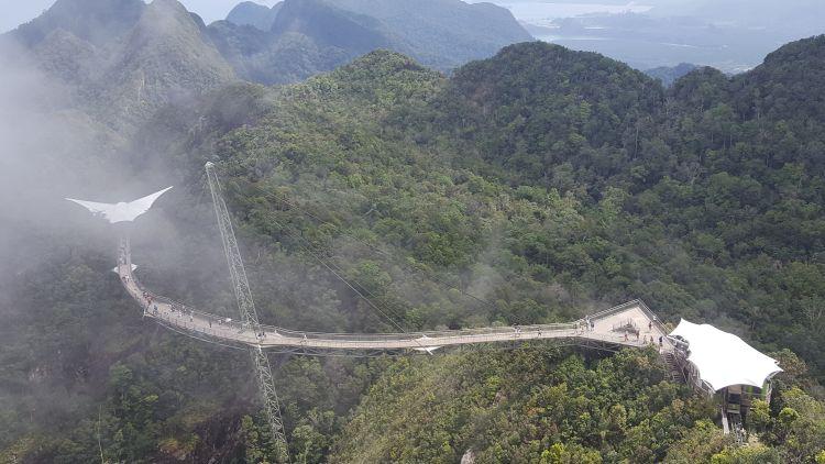 A Sky Bridge függőhíd