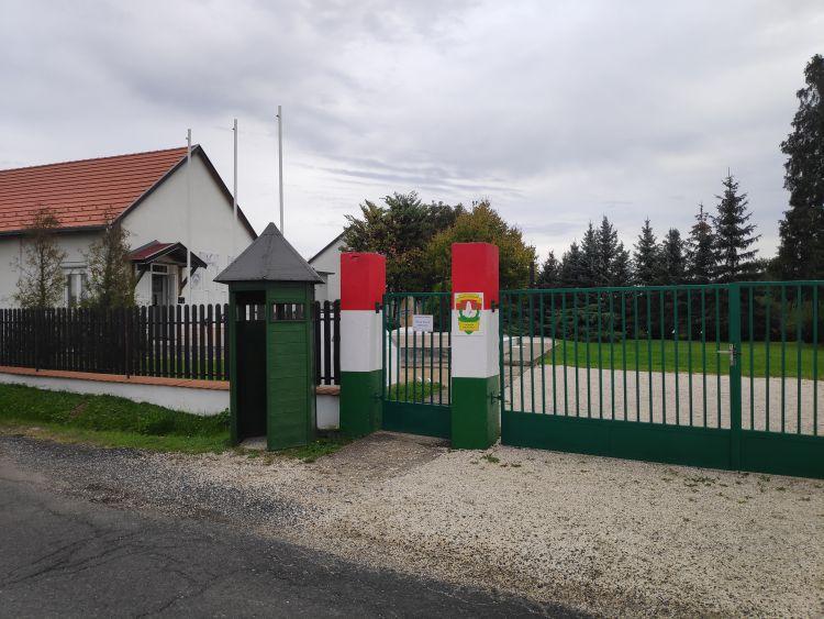 Az épület a környékbeli határőrséget mutatja be