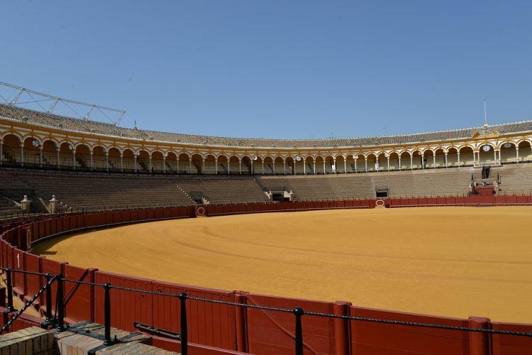 Az aréna még ma is helyet ad bikaviadalnak