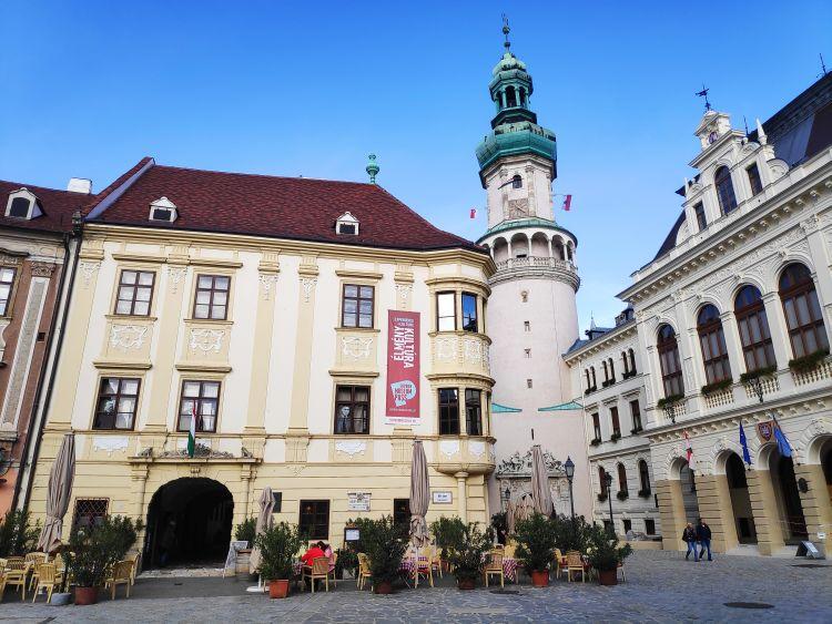 A Tűztorony Sopron jelképe