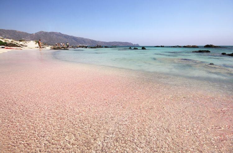 Kréta egyik legszebb tengerpartja