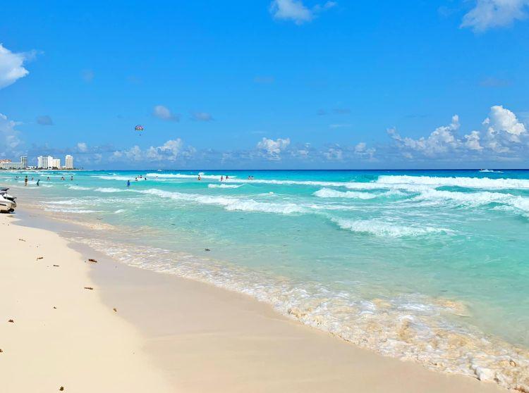 Gyönyörű a cancuni tengerpart