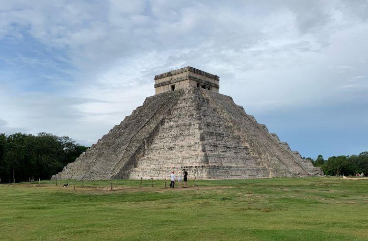 A Chichen Itza piramis