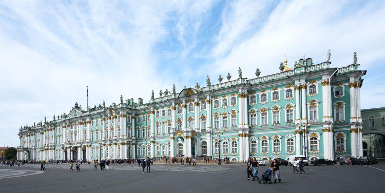 Oroszország legnagyobb múzeumát Nagy Katalin cárnő építtette