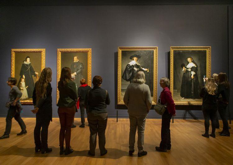 A holland festészet főbb alkotásai mind láthatóak