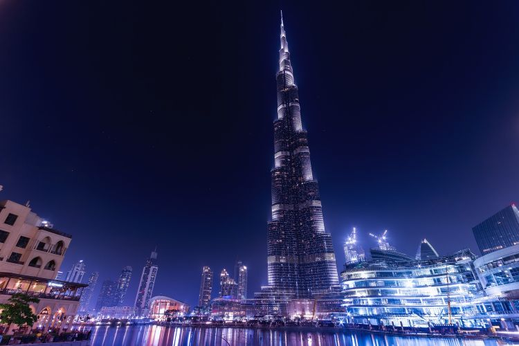 A világ legmagasabb épülete a legelső Dubaj látnivalók listáján