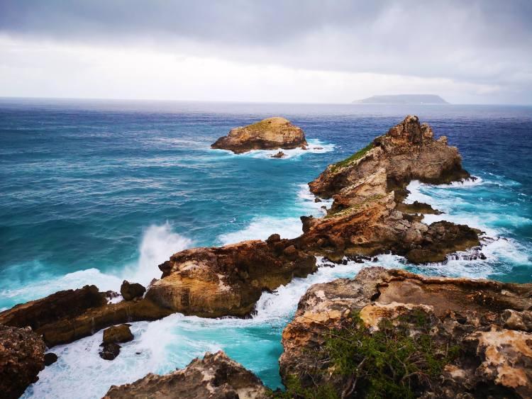 Guadeloupe legkeletibb pontja