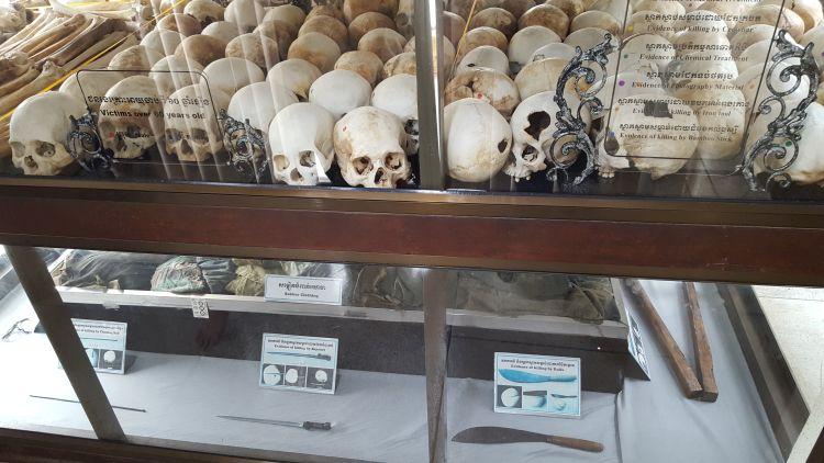 Megrázó látvány a sok ezer koponya