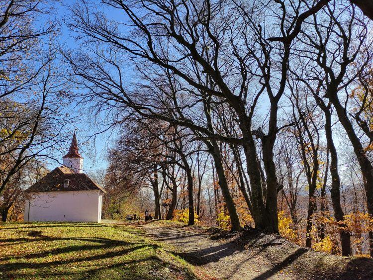 Velemből is látható a kápolna