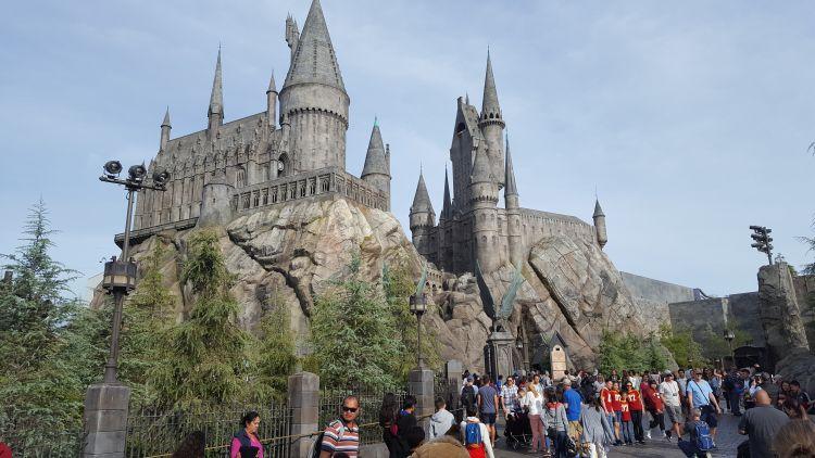 A Harry Potter kastélya
