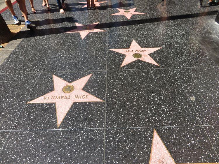 Bár csak egy járda, mégis Los Angeles látnivalók között kötelező a Walk of Fame