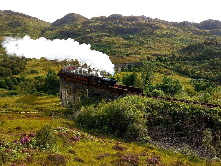 Roxfort expressz a Glenfinnan viadukton