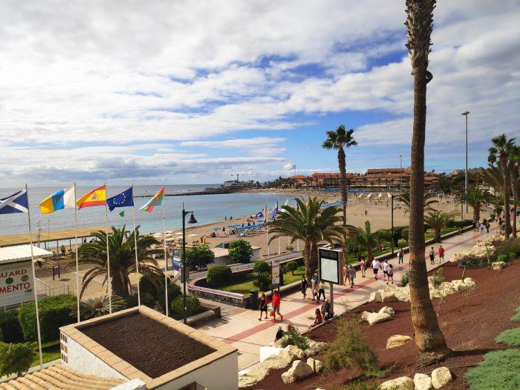 Los Cristianos strandja, a Las Vistas