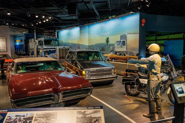 Az USA történelmével ismerkedhetünk meg a múzeumban