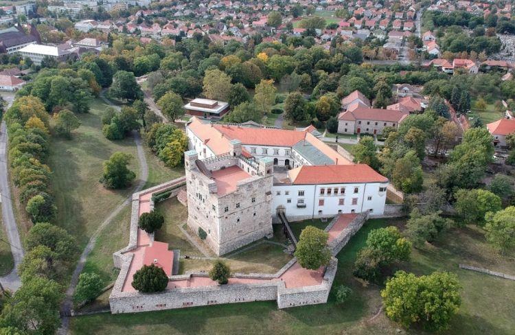 A Rákóczi-vár Sárospatak fő látnivalója