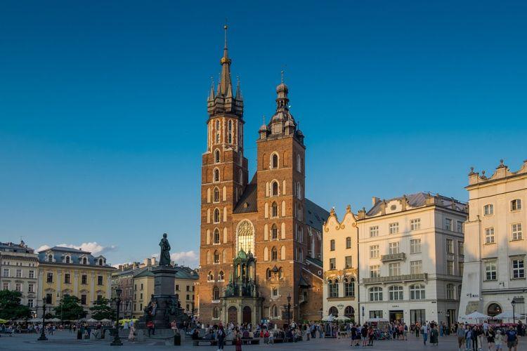 A templom Lengyelország egyik leghíresebb épülete