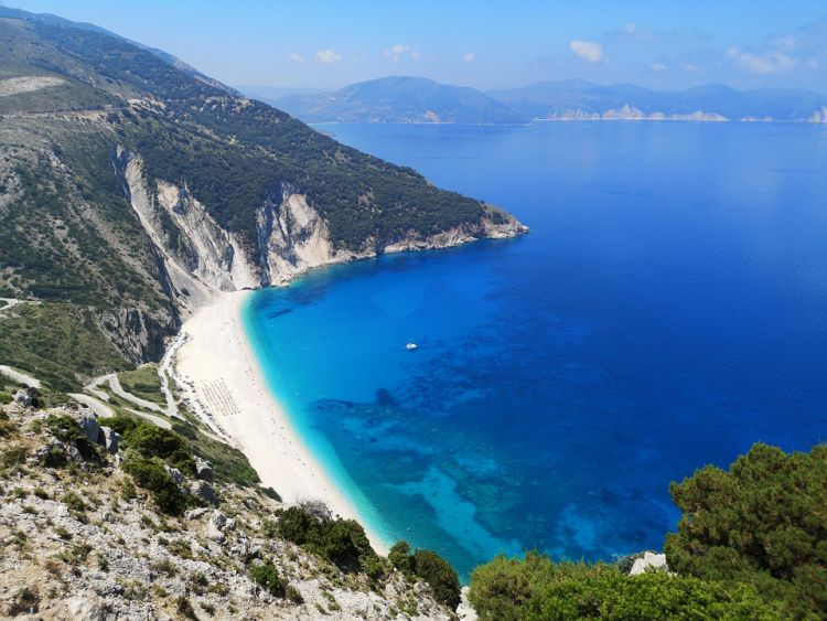 Görögország egyik ikonikus tengerpartja
