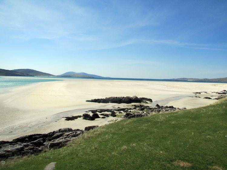 Gondoltad volna, hogy Skóciában ilyen csodás fehér homokos part van!?