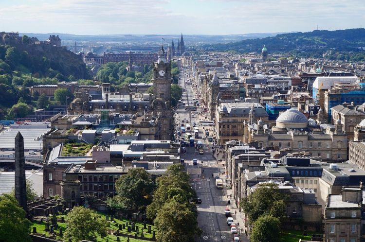 A skót főváros szintén Európa egyik legszebbje