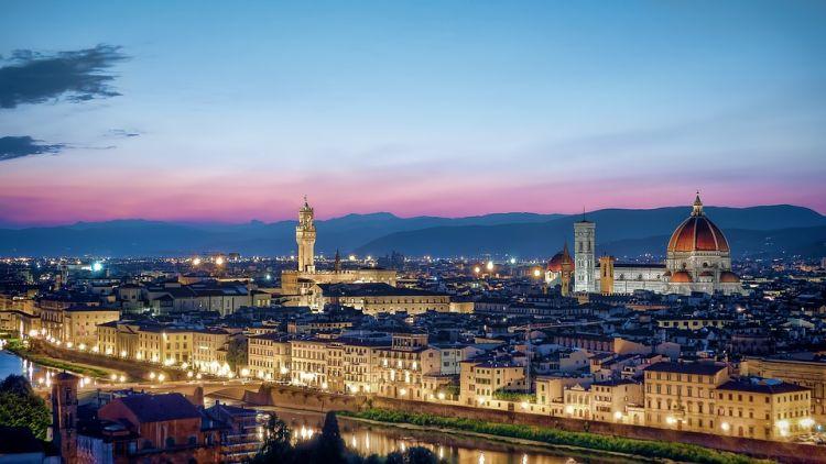 Firenze a művészetek városa