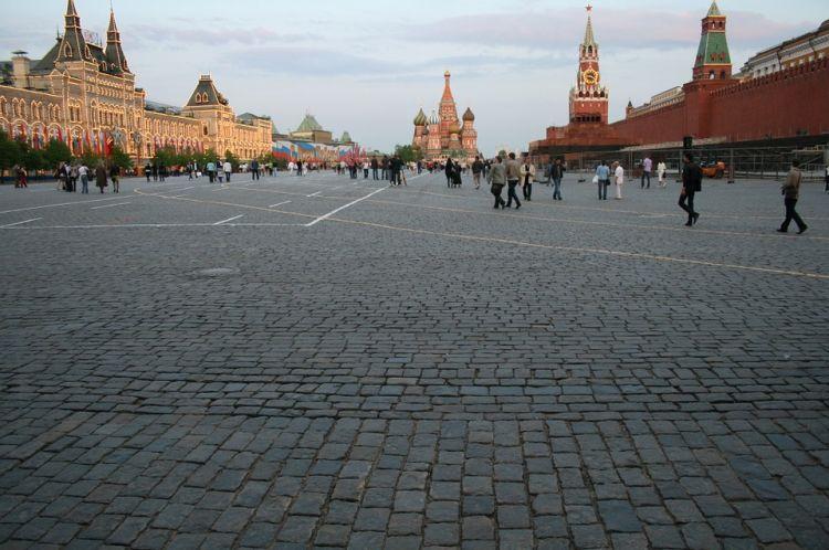 A Vörös tér Moszkva látnivalók központja