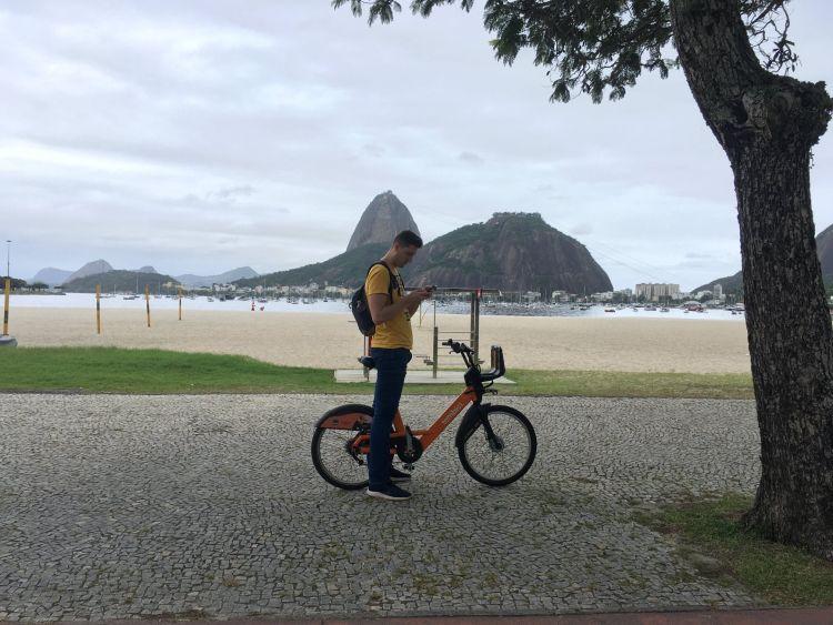 Rio de Janeiro-ban bicajjal is könnyű közlekedni