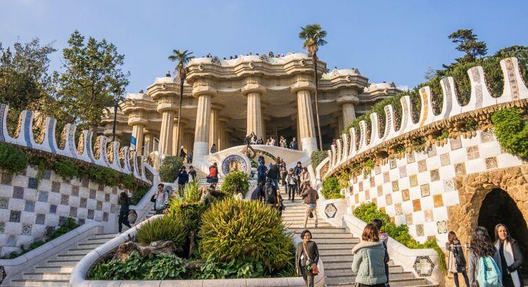 Barcelona ikonikus parkja