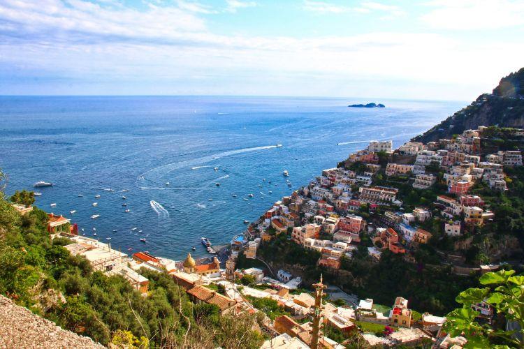 Az Amalfi-part fentről még csodásabb