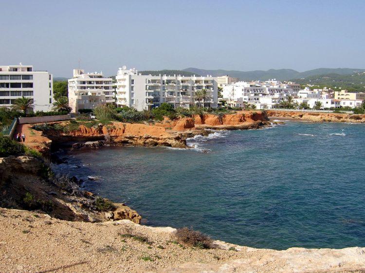 Es Canar a keleti rész egyik nyugis városa