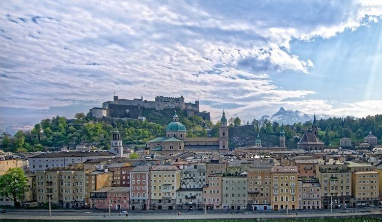 Ausztria legszebb városa Salzburg
