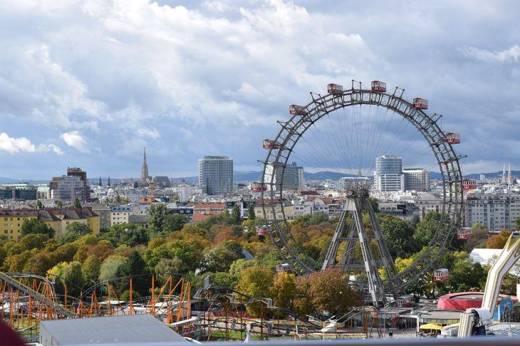 Bécs egyik jelképe az óriáskerék