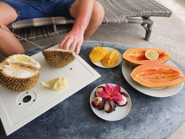 A durian jó büdös tud lenni